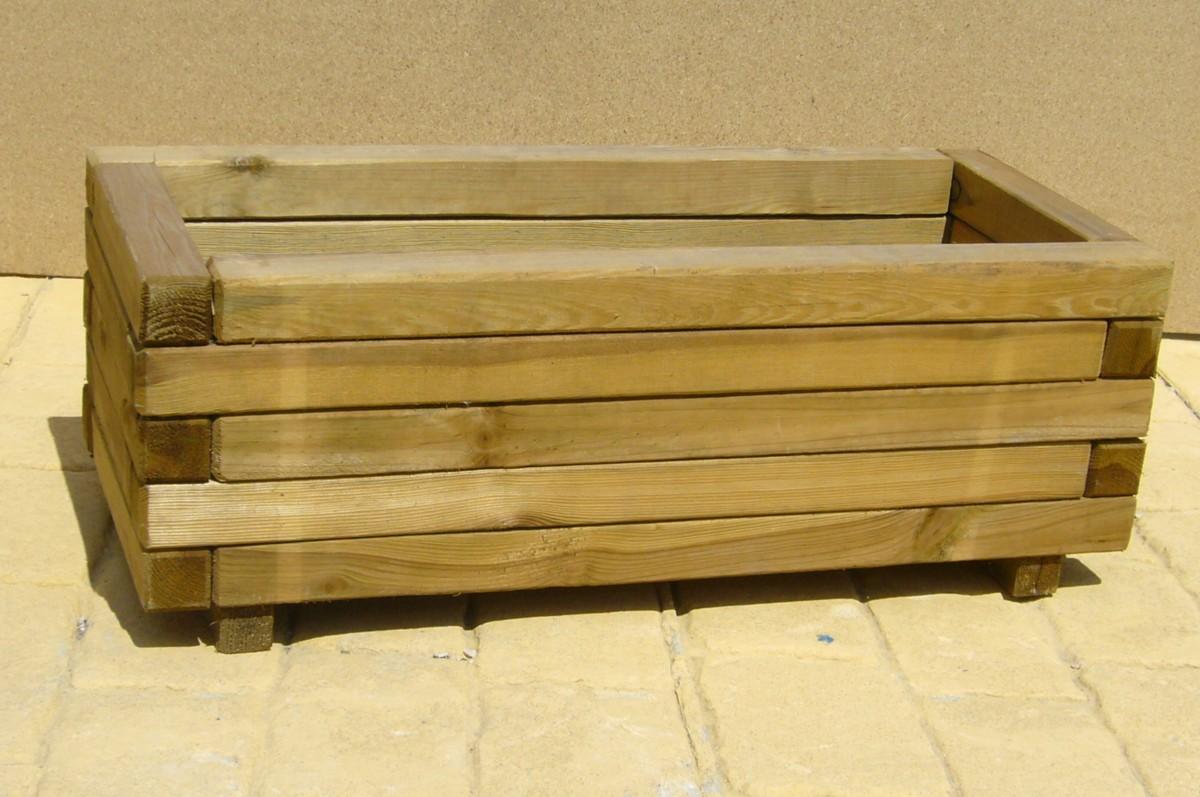 Macetas de madera picture car interior design - Macetas de madera ...
