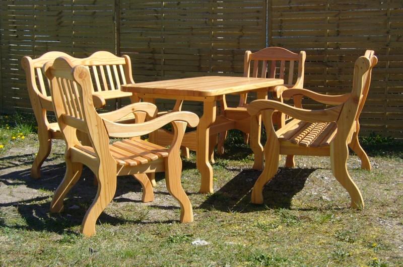 Muebles jardin y terraza for Muebles para jardin en madera